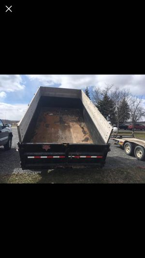 Dump trailer for hauling for Sale in Dundee, NY