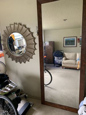 Large Crystal Mirror for Sale in New York, NY