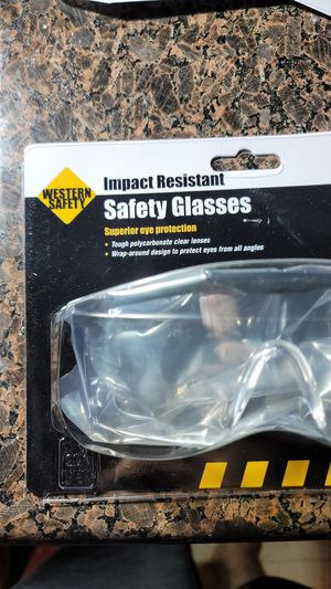 Western Safety Impact Resistant Safety Glasses Superior Eye Protection 1 size fits all for Sale in Laguna Hills, CA