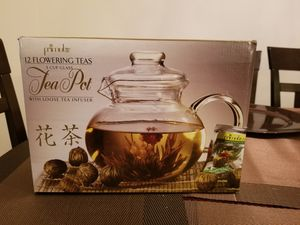 Flowering Tea Pot for Sale in Silver Spring, MD