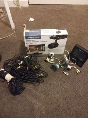 BUNKER HILL WHEATHERPROOF COLOR SECURITY CAMERA SYSTEM for Sale in Vancouver, WA