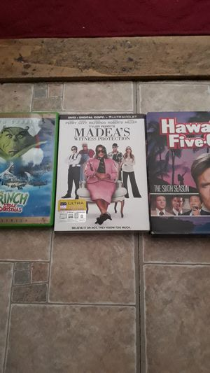 3 Random DVDs for Sale in Everett, MA