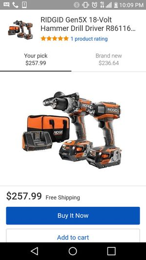 Vendo set de hammer drill 18 voltios for Sale in Arlington, VA