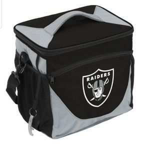 Oakland Raiders 24 Can Insulated Cooler for Sale in Colton, CA
