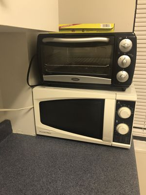 Microwave & Toaster Oven for Sale in Pittsburgh, PA