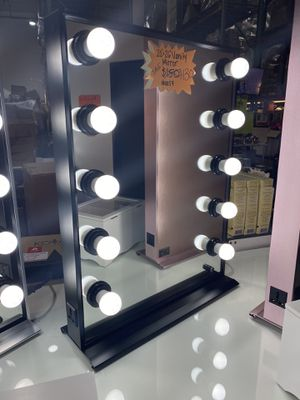 Hollywood Style Vanity Mirror with dimmable LED light bulbs for Sale in Chino, CA