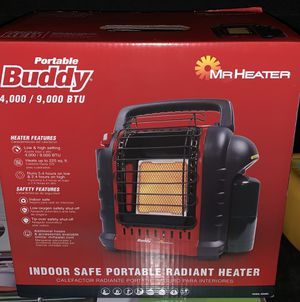 Me Heater portable buddy 9,000 btu for Sale in Las Vegas, NV
