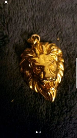 Lion pendant necklace for Sale in Millersville, MD