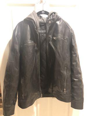 Men's Medium Faux Leather Jacket for Sale in Sterling, VA