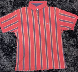 Vintage Tommy Hilfiger Polo Shirt Vertic for Sale in Long Beach,  CA
