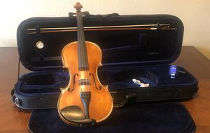 Bunnel Premier Violin 4/4 Full Size - Carrying Case and Accessories Included - Highest Quality By Kennedy Violins for Sale in Beaumont, TX