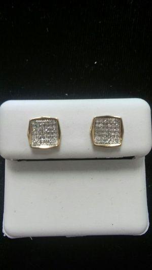 10kt Diamond Earrings for Sale in Columbus, OH