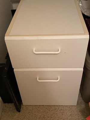 File 2 drawer filing cabinet for Sale in Austin, TX