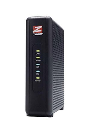 Zoom High-Speed Cable Modem DOCSIS 3.0 for Sale in Sterling Heights, MI