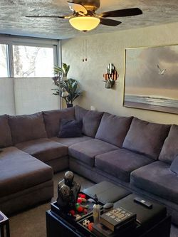 Sectional Gray Couch for Sale in Denver,  CO