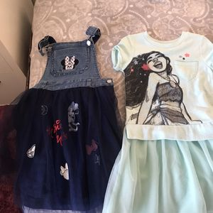 Minnie Mouse, Moana Dress Girls for Sale in Riverside, CA
