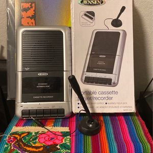 Portable Cassette Player/recorder for Sale in Los Angeles, CA