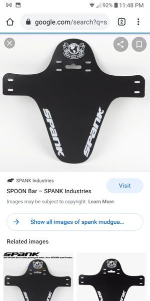 Spank Mountain Bike Mudguard for Sale in Framingham, MA