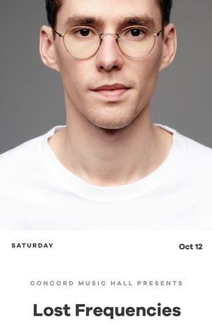 Lost Frequencies tonight at Concord Music Hall for Sale in Chicago, IL
