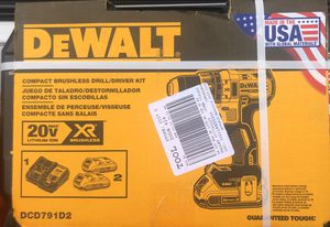 Dewalt compact brushless drill/driver kit for Sale in Stockton, CA
