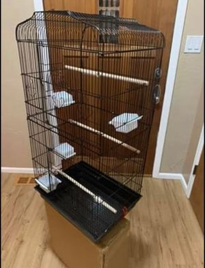 "New Black Bird Cage 37"" Tall for Sale in Colorado Springs, CO"