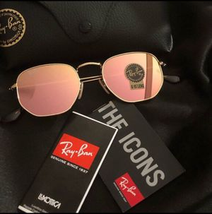 Ray ban hexagon rose gold 3548 sunglasses for Sale in Los Angeles, CA