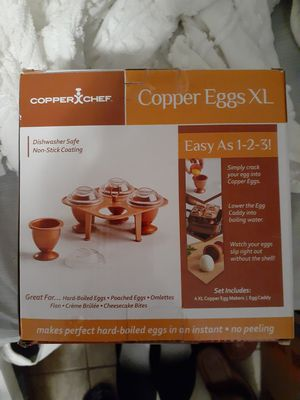 Cooper Eggs XL for Sale in Tampa, FL