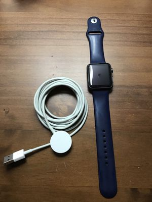 Apple Watch 1st generation. 42mm with blue band. for Sale in North Potomac, MD