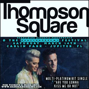 Thompson Square at BandSandBrews tickets! for Sale in Jupiter, FL