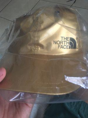 Supreme The North Face 6 Panel Gold Hat for Sale in Miami, FL