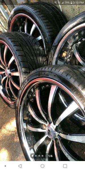 Lexani 20 inch wheels fs or trade for Sale in Trenton, NJ