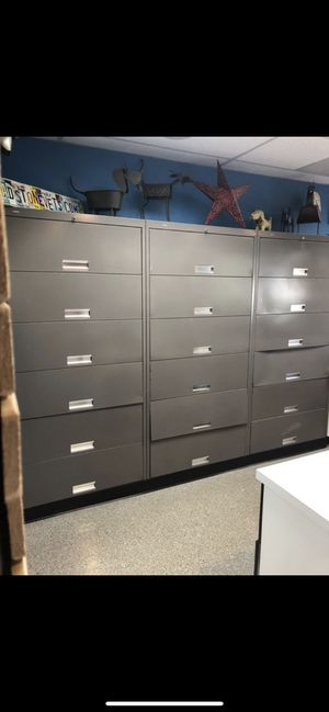 **PENDING PICKUP** HON 6 Drawer File Cabinets **FREE** for Sale in Portland, OR