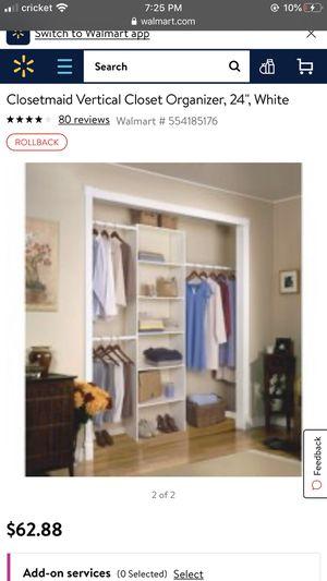Closet maid closet organizer for Sale in Casa Grande, AZ
