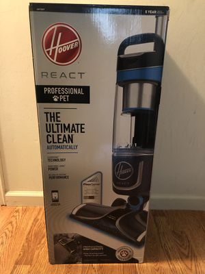 Hoover React Professional Pet Vaccum Cleaner for Sale for sale  Mount Olive Township, NJ