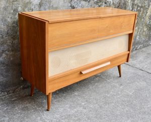 Mid Century Restored Braun German record console + echo dot *Designed by Dieter Rams! for Sale in Hampton, VA