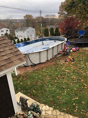 Pool 36x15 $600best offer for Sale in West Warwick, RI