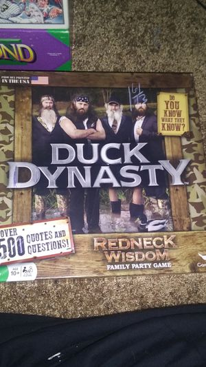 Duck Dynasty Board Game for Sale in Oklahoma City, OK
