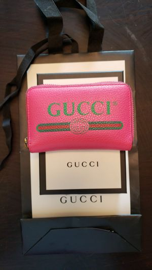 Pink Gucci Card Case/Wallet for Sale in Denver, CO