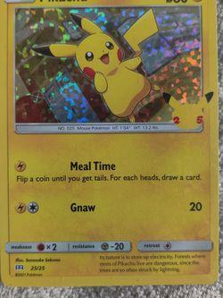 ERROR Mcdonald's Pikachu 25th HOLO for Sale in Locust Grove,  GA
