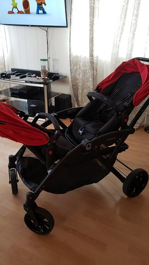Contours options double stroller for Sale in Tacoma, WA