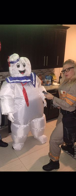 Ghostbusters Couple Halloween Costume $50 for both! for Sale in Sunrise, FL