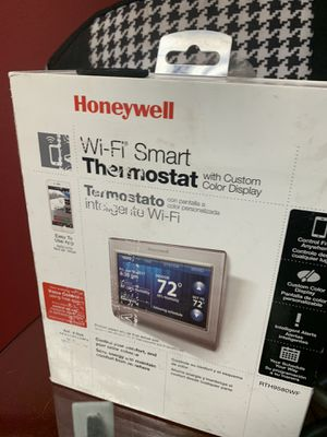 Honeywell WiFi thermostat. for Sale in Baltimore, MD