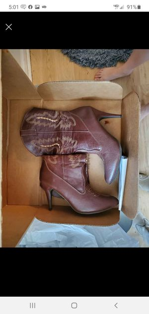 Stilletto Cowboy boots 10 for Sale in Crewe, VA