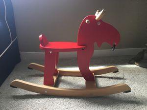 Kids Moose toy rocker for Sale in Seattle, WA