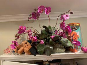 Fuchsia orchid fake plant for Sale in Corona, CA