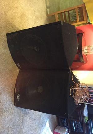 Pyle Pro entertainment system speakers. for Sale in Arlington, VA