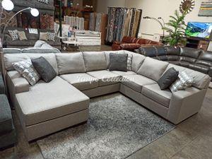 New Sectional Sofa, Light Grey, SKU# ASH4190216347756TC for Sale in Santa Fe Springs, CA