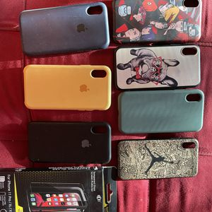 iPhone X Cases And Screen Protector for Sale in Austin, TX