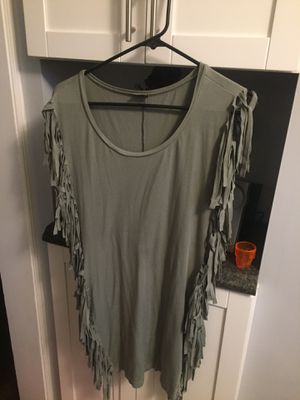 Green size small fringe dress from Venus for Sale in Willoughby, OH