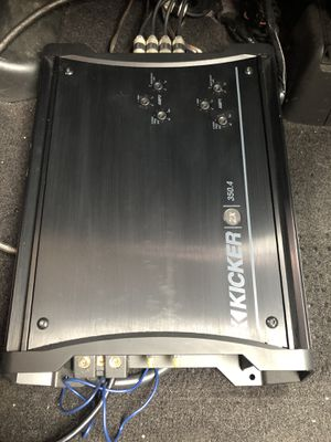 **Kicker ZX350.4 car stereo amp excellent condition for Sale in Oceanside, CA